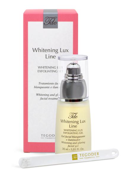 TEGOR Гель особого действия для кожи лица / Whitening LUX EXFOLIATING SЕT 30 мл