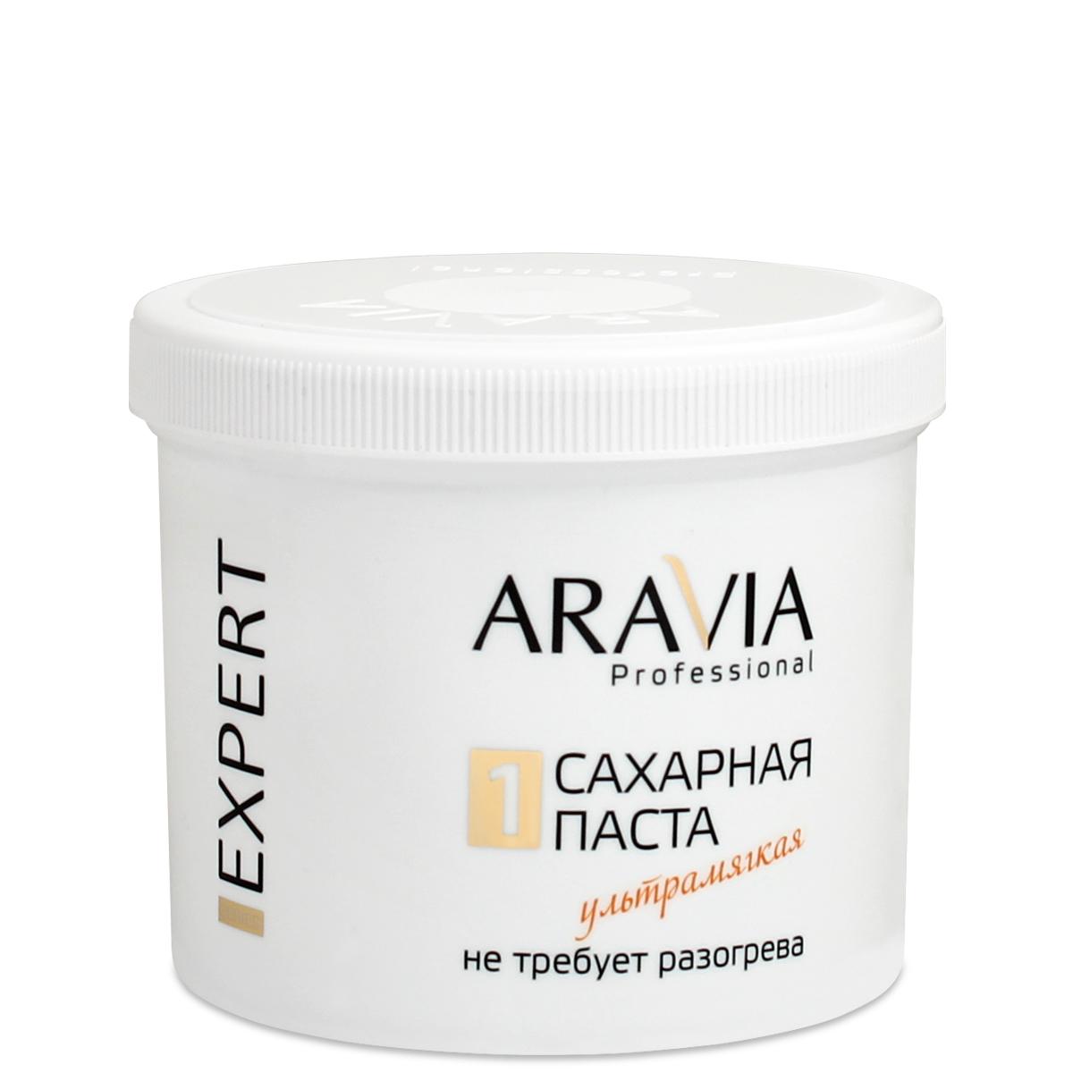 ARAVIA Паста сахарная для депиляции Ультрамягкая / EXPERT 750гр