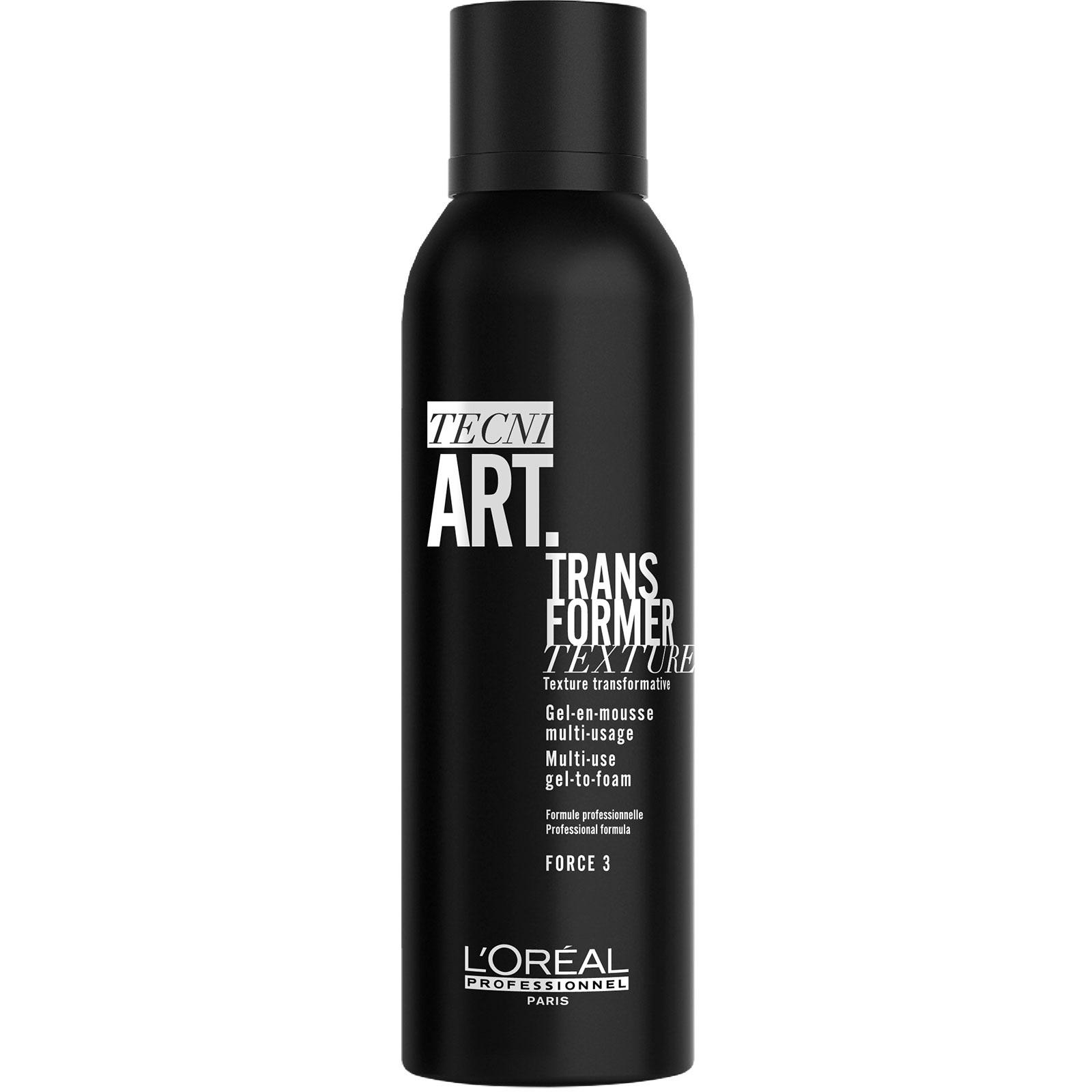 L'OREAL PROFESSIONNEL Гель-мусс трансформер для укладки волос / Tecni.Art Transformer Textura 200 мл