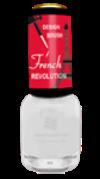 BRIGITTE BOTTIER Лак French Revolution тон FR 624 белый / French Revolution 12мл