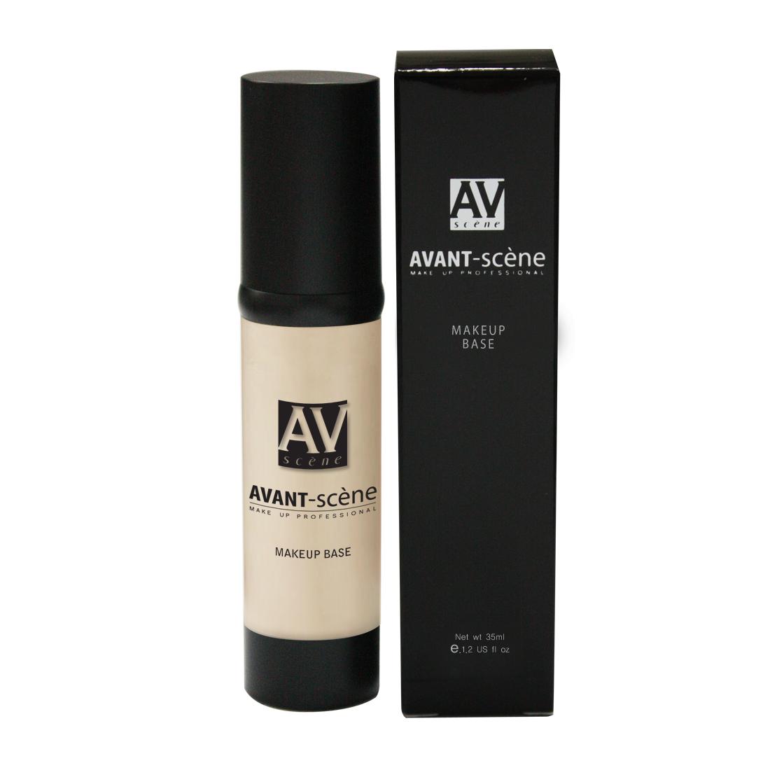 AVANT scene База под макияж,   3 - телесно-бежевый / Make-up Base 35мл