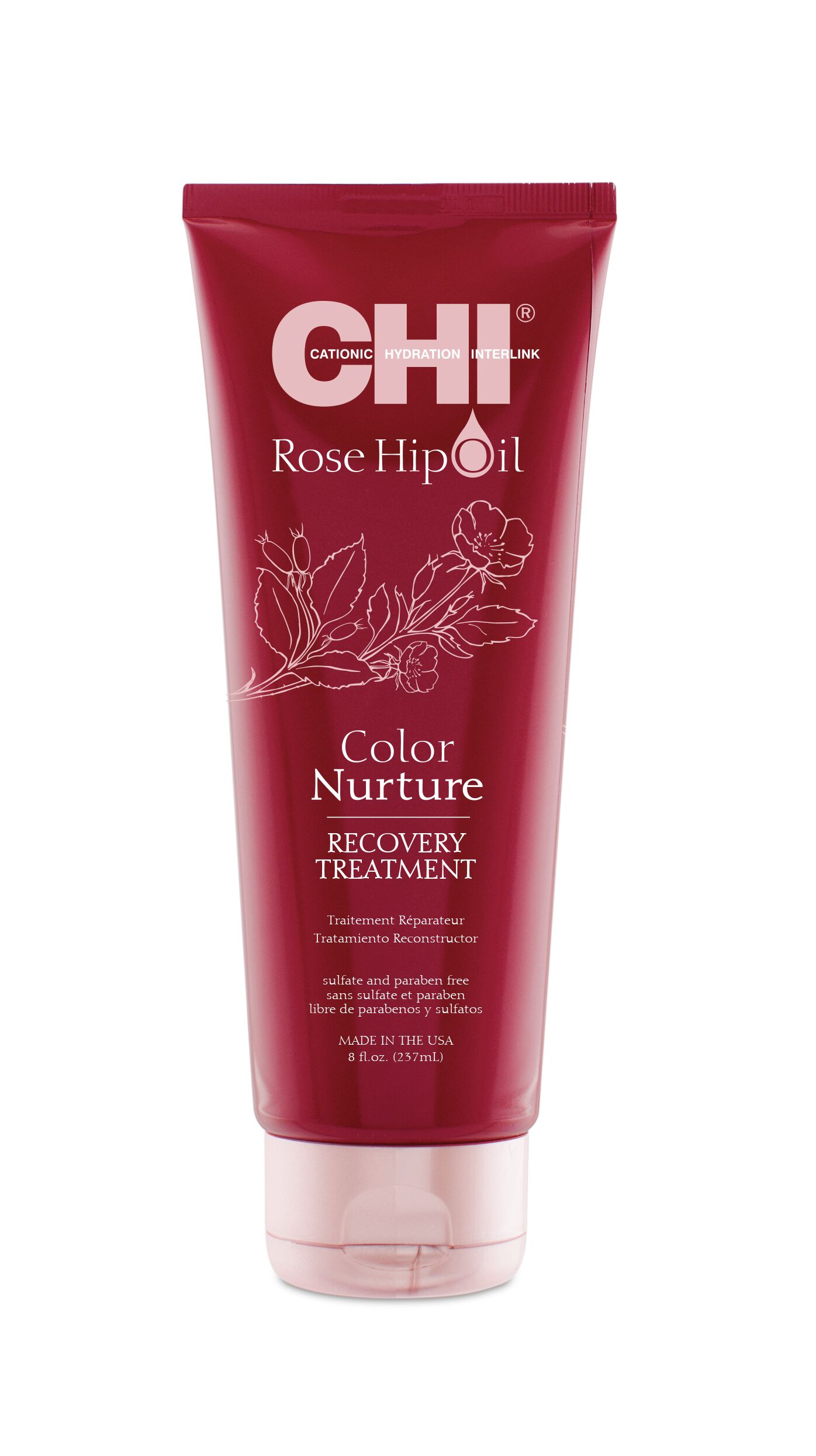 CHI Маска для волос с маслом шиповника 237 мл