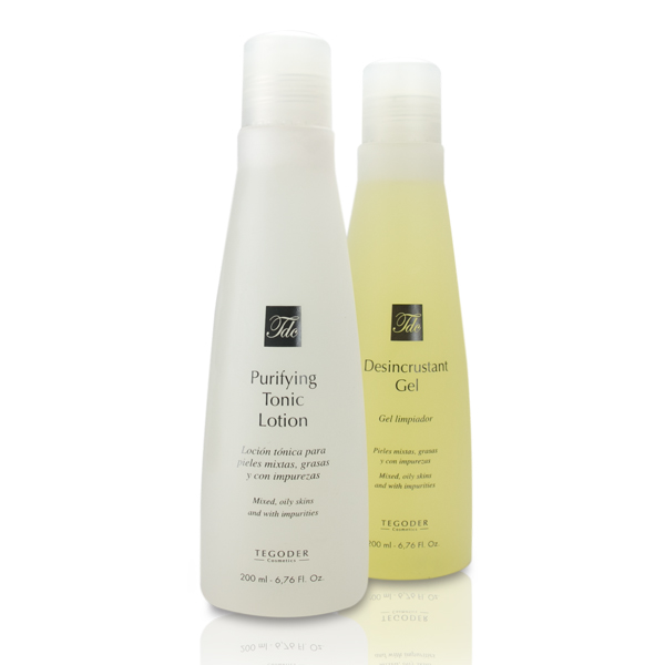 TEGOR Набор для очищения кожи лица / Purifying Cleansing Pack COMPLEMENTARY 2*200мл