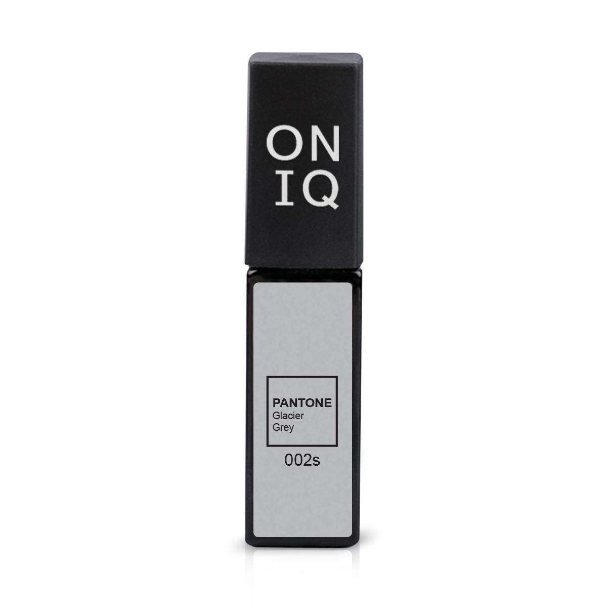 ONIQ Гель-лак для покрытия ногтей, Pantone: Glacier grey, 6 мл