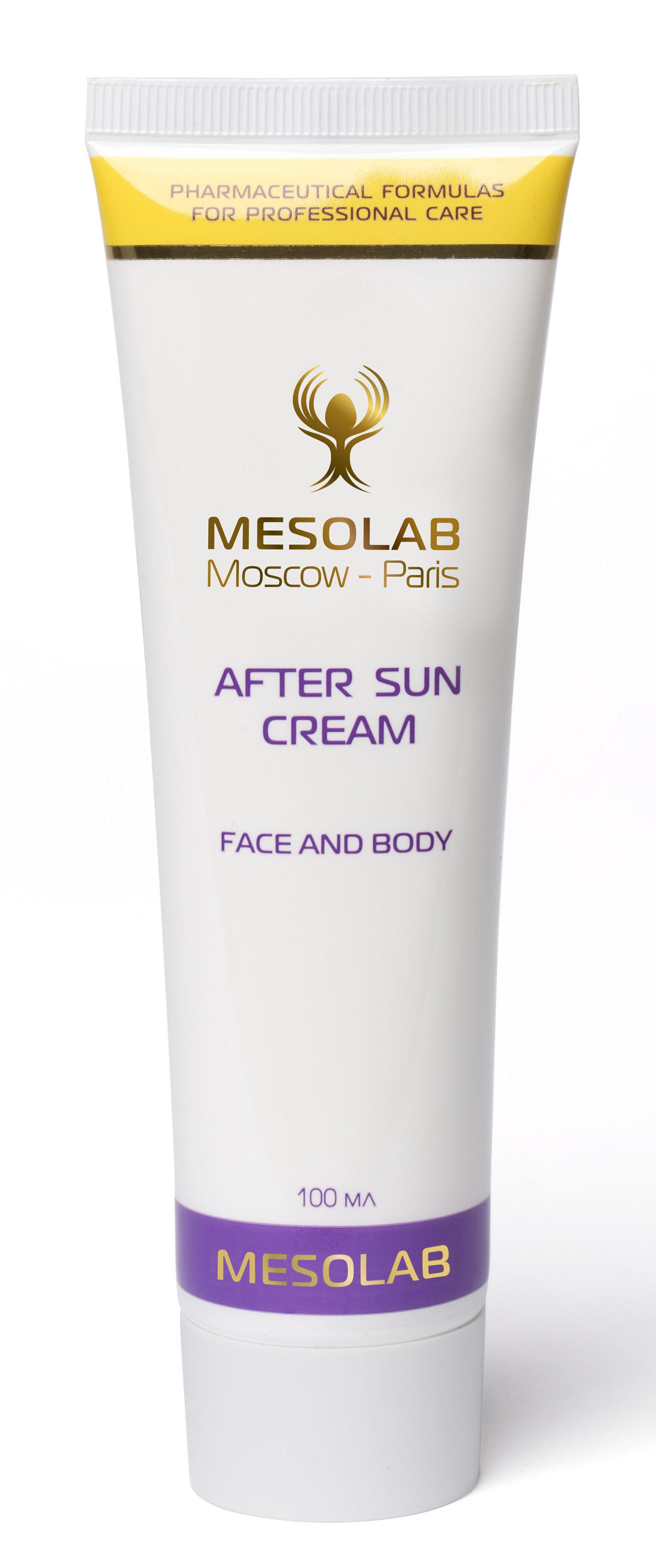 MESOLAB Крем солнечный после загара / AFTER SUN CREAM 100 мл -  Кремы