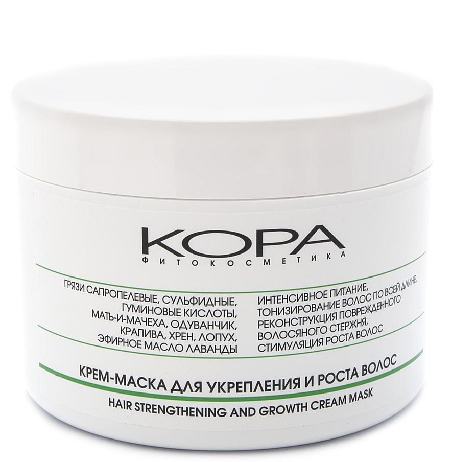 КОРА Крем-маска для укрепления и роста волос 300мл