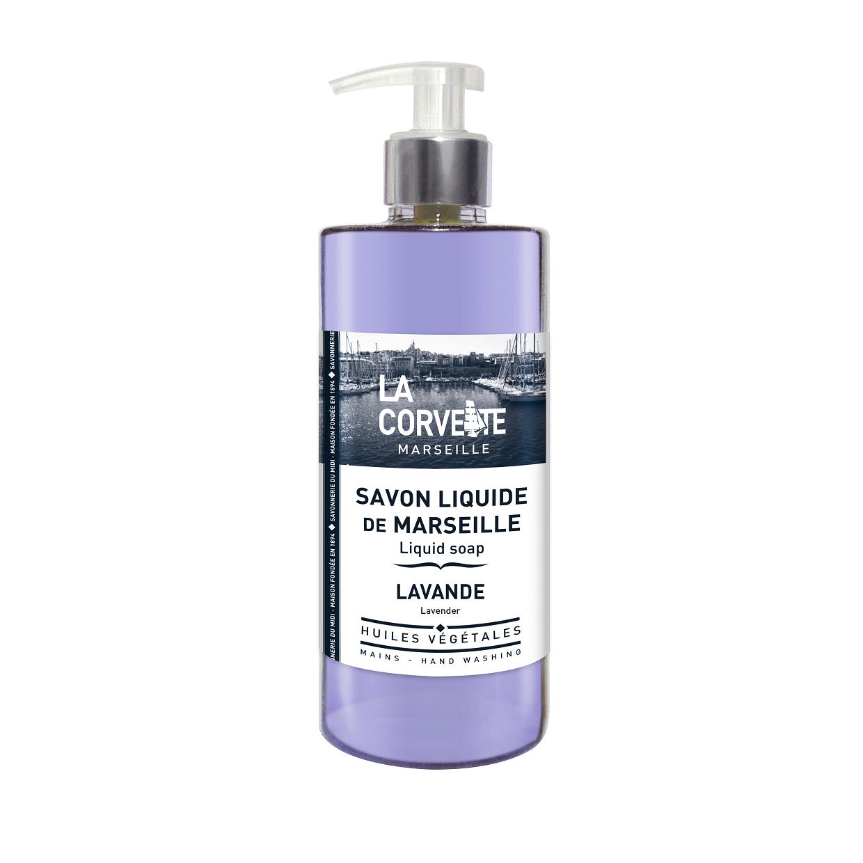 LA CORVETTE Мыло жидкое из Марселя Лаванда 500 мл - Мыла