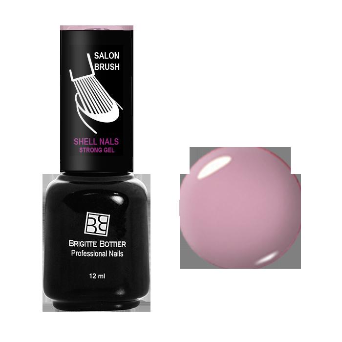 BRIGITTE BOTTIER 905 гель-лак для ногтей Светлый розовый / Shell Nails 12мл