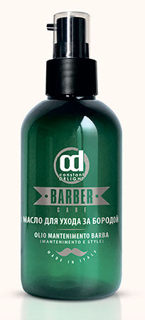 CONSTANT DELIGHT Масло для ухода за бородой / BARBER 100 млЛицо<br>Состоит из смеси Масел Природного Происхождения. Увлажняет и смягчает бороду, делая её послушной и приятной на ощупь. Активные компоненты: масло Сладкого Миндаля, масло Лимонника Китайского, Витамин Е, масло Льняное. Способ применения: нанести на ладони несколько капель продукта и массирующими движениями втирать в бороду до полного впитывания.<br><br>Пол: Мужской