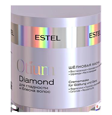 ESTEL PROFESSIONAL Маска шелковая для гладкости и блеска волос / OTIUM DIAMOND 300 мл -  Маски