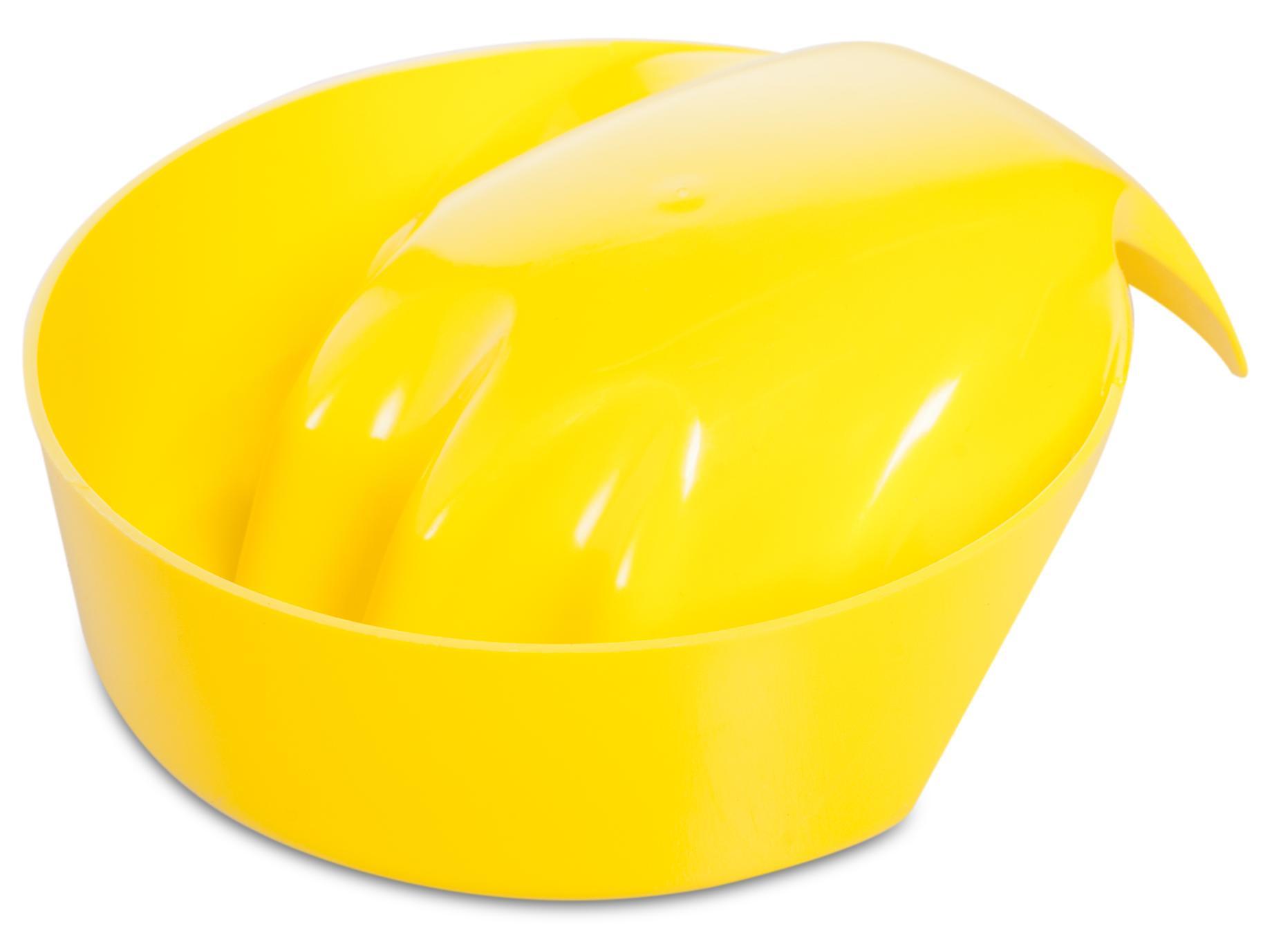 DOMIX Ванночка для маникюра mini, желтая