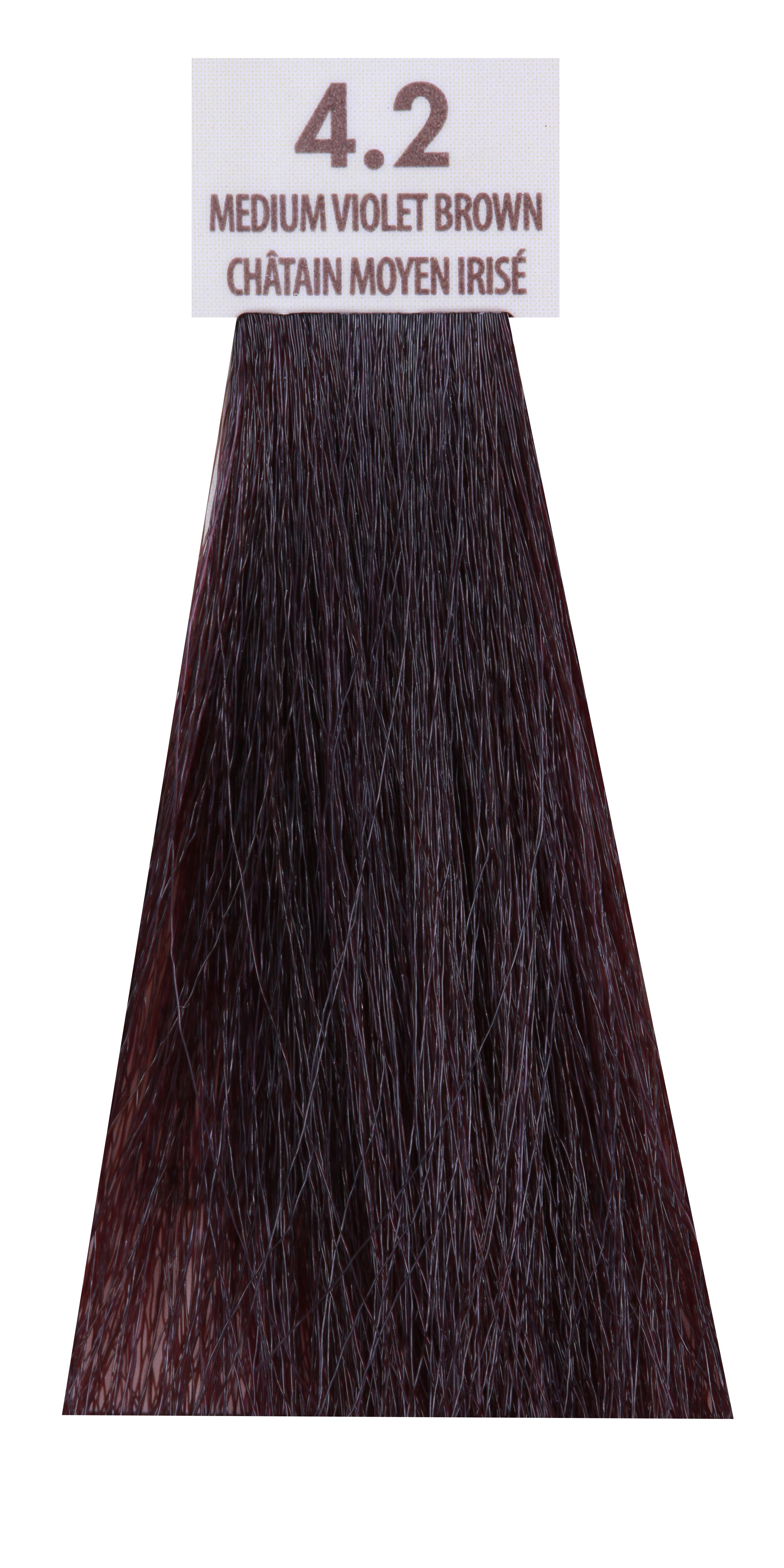 MACADAMIA NATURAL OIL 4.2 краска для волос, средний радужный каштановый / MACADAMIA COLORS 100 мл