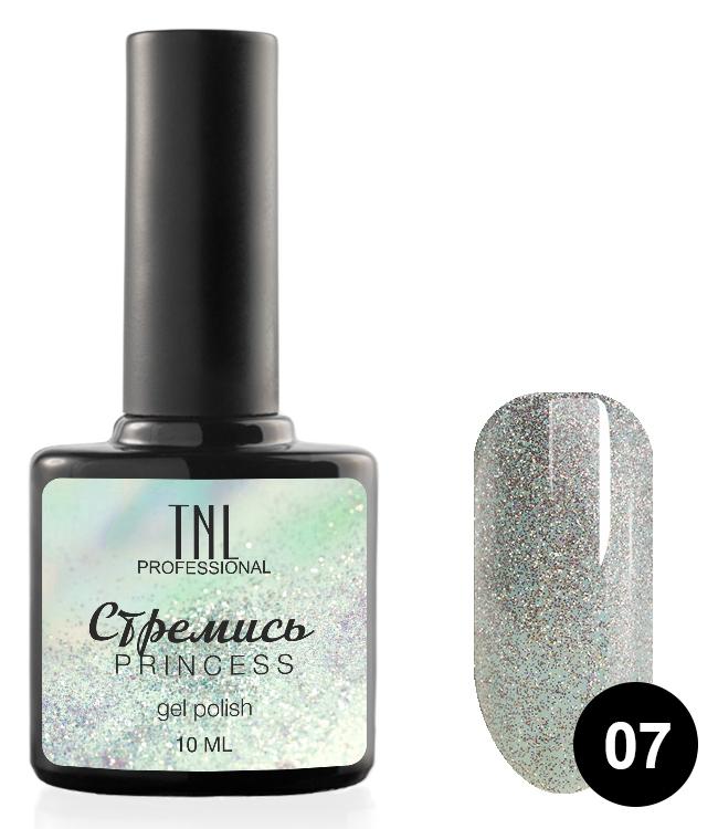 Купить TNL PROFESSIONAL 07 гель-лак для ногтей Стремись / Princess 10 мл, Зеленые