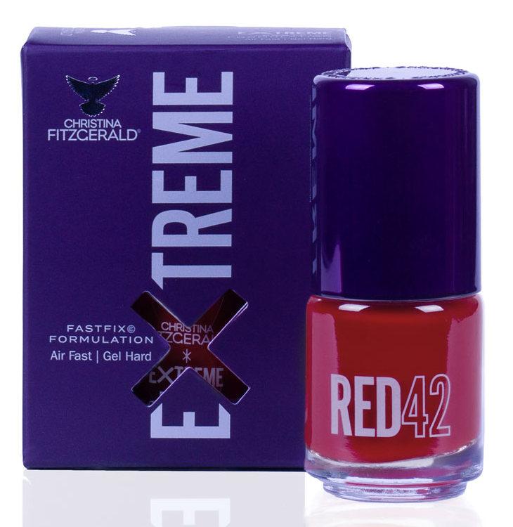Купить CHRISTINA FITZGERALD Лак для ногтей 42 / RED EXTREME 15 мл, Красные