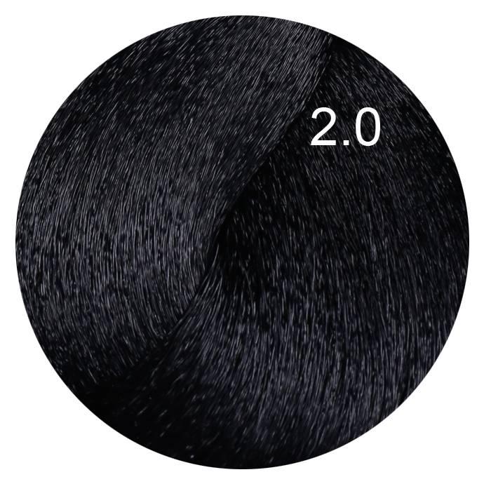 FARMAVITA 2.0 краска для волос, черный / B.LIFE COLOR 100 мл