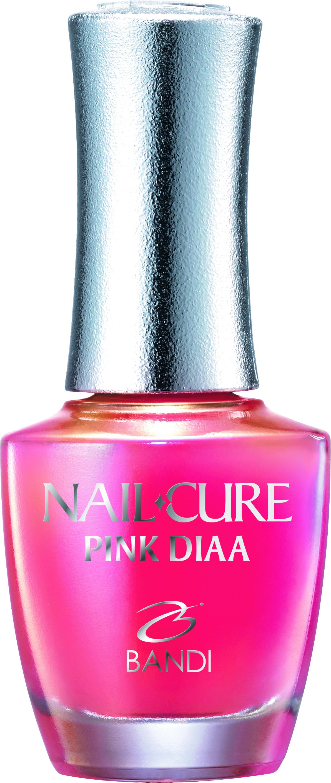 Купить BANDI Покрытие укрепляющее для тонких и поврежденных ногтей / NAIL CURE PINK DIAA 14 мл