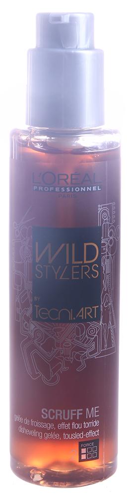 LOREAL PROFESSIONNEL Желе для создания эффекта взъерошенных волос (2) Скрафф Ми / WILD STYLERS tecni.art 150мл