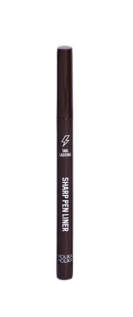 HOLIKA HOLIKA Подводка для глаз 02 (коричневый) Тэйл Ластинг / Tail Lasting Sharp Pen Liner ink brown, 1,7 г