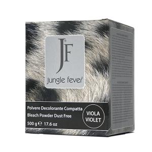 JUNGLE FEVER Пудра обесцвечивающая компактная фиолетовая / Bleach Powder Dust Free Violet COLOR GUIDE 500гр~