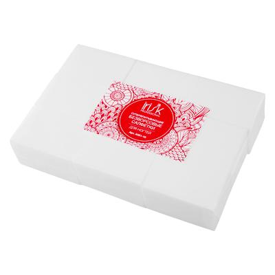 IRISK PROFESSIONAL Салфетки безворсовые супервпитывающие 4*6 см, 01 белые 600 шт
