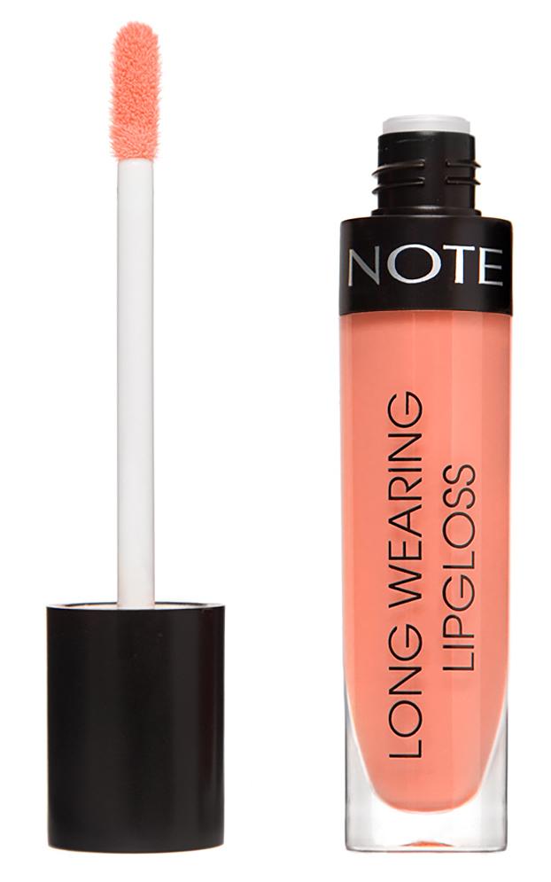 Купить NOTE Cosmetics Блеск стойкий для губ 16 / LONG WEARING LIPGLOSS 6 мл