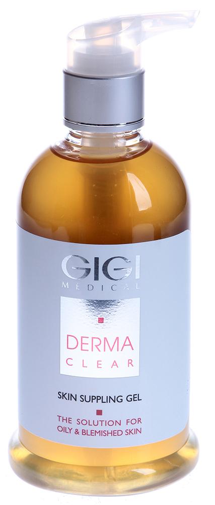 GIGI Гель размягчающий / Gel Suppling DERMA CLEAR 250мл
