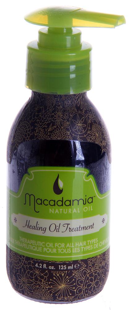 MACADAMIA Natural Oil Уход восстанавливающий с маслом арганы и макадамии / Healing Oil Treatment 125млМасла<br>Терапевтическое масло, оптимально подходящее любому типу волос, и особенно полезное для сухих, поврежденных волос. Обеспечивает интенсивное питание, разглаживает и дает легко расчесывающиеся, не пушащиеся волосы. Волосы становятся ультра-гладкими, послушными и блестящими. Мгновенное впитывание, без утяжеления или жирности волос. Предотвращает выцветание интенсивности и насыщенности цвета окрашенных волос. Натуральная УФ защита. Активные ингредиенты: Масло макадамии, масло арганового дерева. Способ применения: Нанесите небольшое количество на влажные или сухие волосы. Прочешите для равномерного распределения. Масло Макадамии можно также добавить к другим кондиционирующим или ухаживающим продуктам или добавить в любой краситель или другие химические препараты (завивка, выпрямление и т.д.) для улучшения абсорбции и эффективности. Для того чтобы улучшить ваше окрашивание, сначала нанесите Macadamia healing treatment на волосы до окрашивания, для того чтобы улучшить стабильность и абсорбцию красителя. Добавьте 2 дозы (нажим помпы) в краситель для того чтобы увеличить блеск, глубину и насыщенность цвета. Смешайте тщательно и наносите краситель как обычно.<br><br>Объем: 125<br>Вид средства для волос: Восстанавливающий