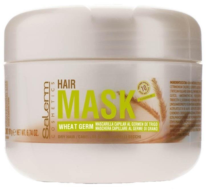 Купить SALERM COSMETICS Маска питательная увлажняющая для волос / Wheat Germ 200 мл