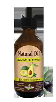 MADIS Масло натуральное с экстрактом авокадо / HerbOlive, 100 мл