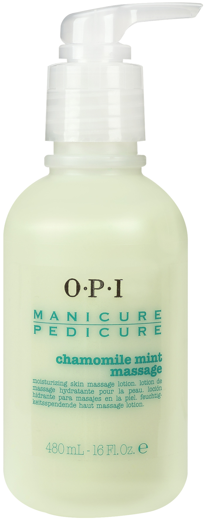 "OPI Лосьон массажный ""Ромашка-мята"" / Manicure-Pedicure Chamomile Mint Lotion 480мл"