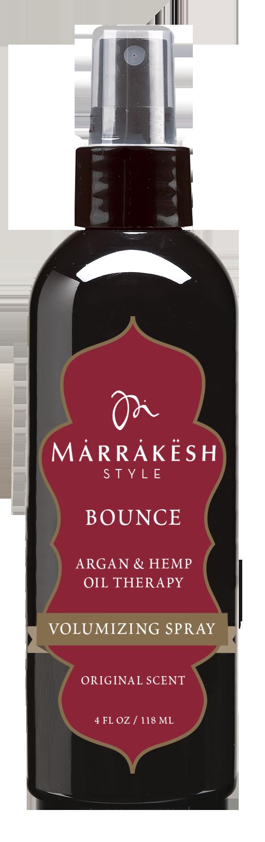 MARRAKESH Спрей для волос, придающий объем /Marrakesh Styling Volumizing Spray 118 млСпреи<br>Спрей для объема Marrakesh предназначен для создания невесомого объема без чувства липкости и жесткости даже на самых тонких волосах. Придает волосам плотность по длине и приподнимает у корней. Формула без спирта не сушит волосы, ухаживая за ними благодаря содержанию комплекса масел Арганы и семян Конопли. Позволяет создать эффект  пляжных волн . Способ применения: нанести на влажные, подсушенные полотенцем волосы. Приступить к укладке.<br><br>Объем: 118 мл