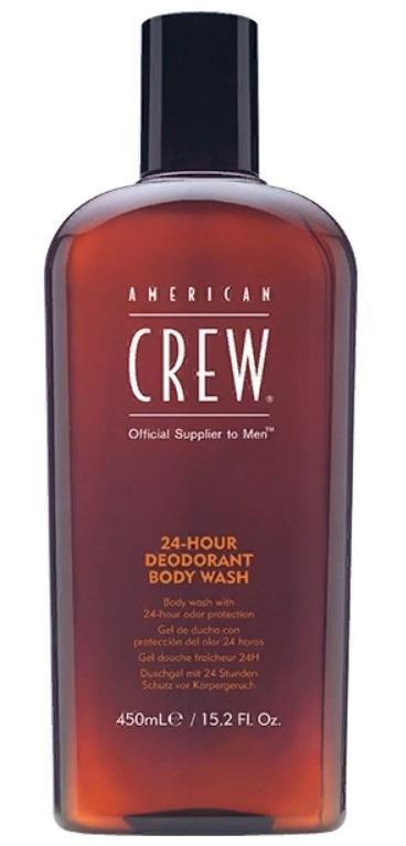 AMERICAN CREW Гель дезодорирующий для душа, для мужчин / 24-Hour Deodorant Body Wash 450 мл