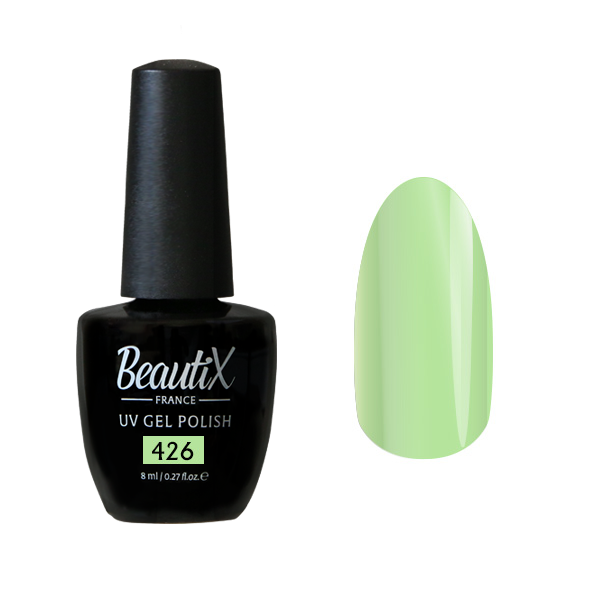 Купить BEAUTIX 426 гель-лак для ногтей 8 мл, Зеленые