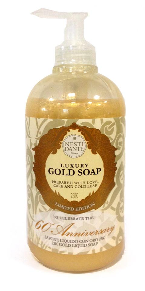 NESTI DANTE Мыло жидкое Юбилейный золотой / Anniversary Gold Soap 500 мл