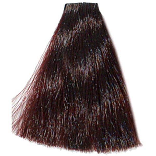 HAIR COMPANY 7.5 краска для волос / HAIR LIGHT CREMA COLORANTE 100млКраски<br>7.5 Русый махагон. Hair Light Crema Colorante   профессиональный перманентный краситель для волос, содержащий в своем составе натуральные ингредиенты и в особенности эксклюзивный мультивитаминный восстанавливающий комплекс. Минимальное количество аммиака позволяет максимально бережно относится к структуре волоса во время окрашивания. Содержит в себе растительные экстракты вытяжку из арахиса, лецитин, витамин А и Е, а так же витамин С который является природным консервантом цвета. Применение исключительно активных ингредиентов и пигментов высокого качества гарантируют получение однородного, насыщенного, интенсивного и искрящегося оттенка. Великолепно дает возможность на 100% закрасить даже стекловидную седину. Наличие 6-ти микстонов, а так же нейтрального бесцветного микстона, позволяет достигать получения цветов и оттенков. Способ применения: смешать Hair Light Crema Colorante с Hair Light Emulsione Ossidante в пропорции 1:1,5. Время воздействия 30-45 мин.<br><br>Вид средства для волос: Стойкая<br>Класс косметики: Профессиональная<br>Типы волос: Для всех типов