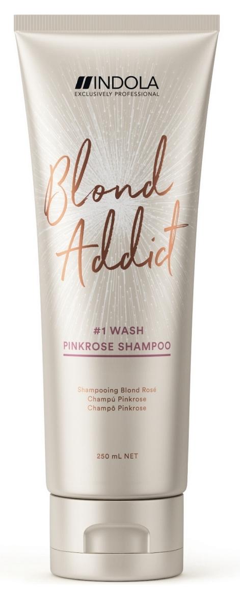Купить INDOLA Шампунь оттеночный для волос / Pinkrose Blond Addict 250 мл