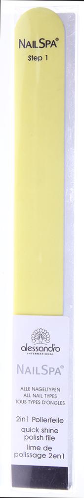ALESSANDRO Пилка полирующая 2 в 1 / Nailbuffer 1шт