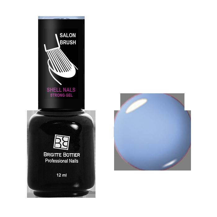 BRIGITTE BOTTIER 907 гель-лак для ногтей, голубая лазурь / Shell Nails 12 мл