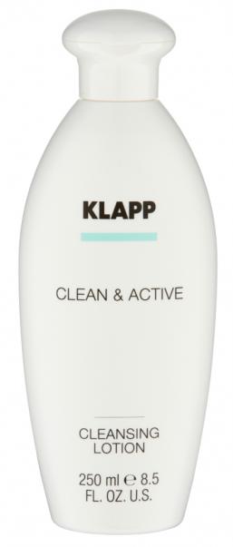 Купить KLAPP Молочко очищающее для лица / CLEAN & ACTIVE 250 мл