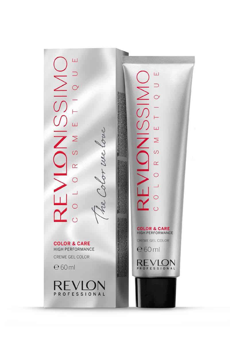 Revlon professional 7.4 краска для волос, блондин медный / rp revlonissimo colorsmetique 60 мл