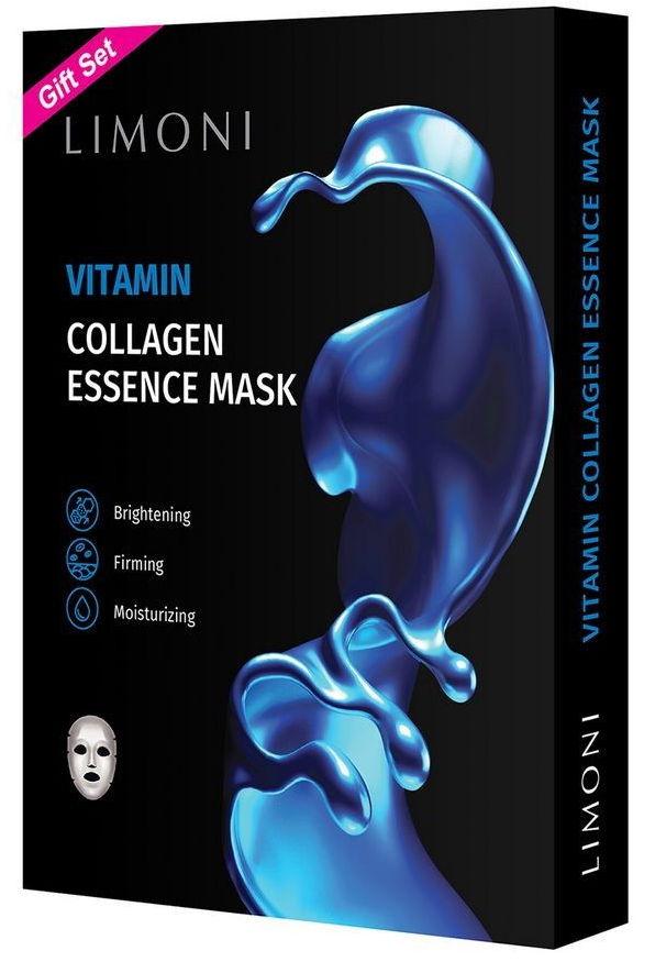Купить LIMONI Маска тканевая витаминизирующая с коллагеном для лица / Vitamin Collagen Essence Mask Set 6*23 г