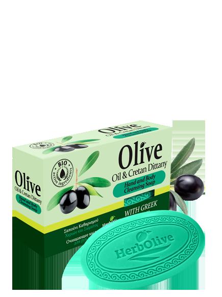 MADIS Мыло оливковое с диктамосом (критская душица) / HerbOlive 90 гр