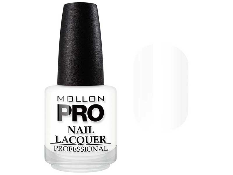 MOLLON PRO ��� ��� ������ � ������������ / Hardening Nail Lacquer 01 15��