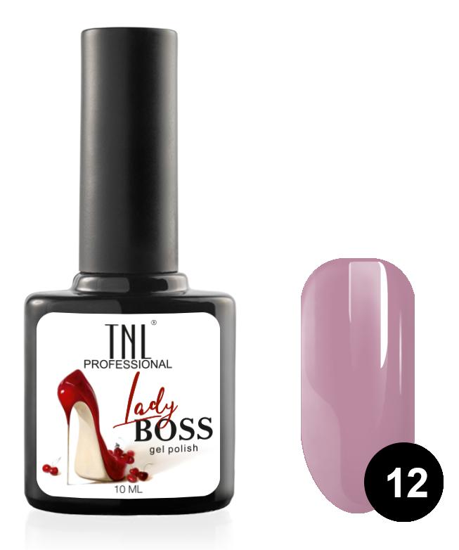 Купить TNL PROFESSIONAL 12 гель-лак для ногтей / Lady Boss 10 мл, Фиолетовые