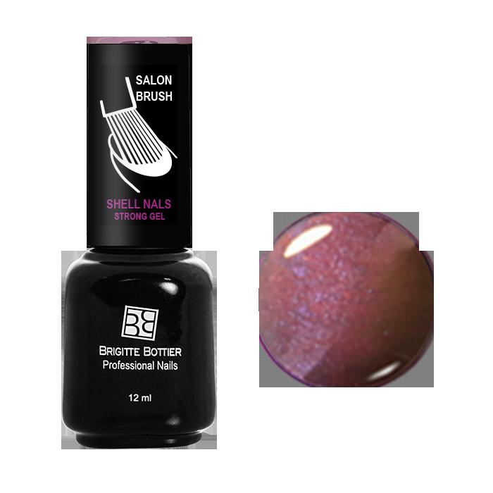 BRIGITTE BOTTIER 951 гель-лак магнитный для ногтей, алый кошачий глаз / Shell Nails 12 мл