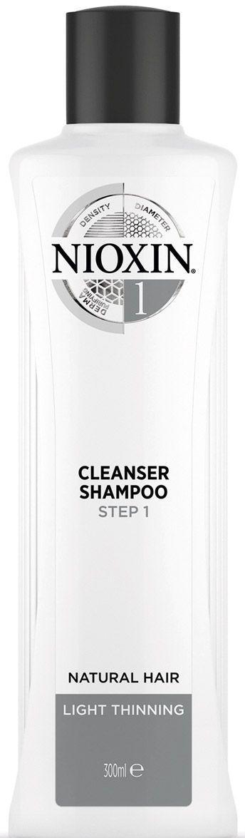Купить NIOXIN Шампунь очищающий для тонких натуральных волос, с намечающейся тенденцией к выпадению (1) 300 мл