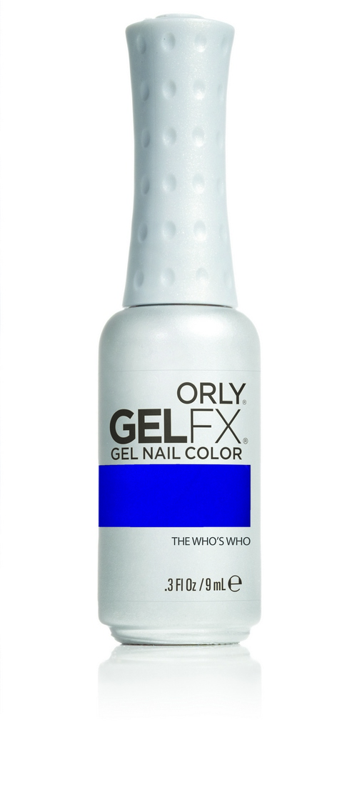 ORLY Гель-лак 899 THE WHO'S WHO / GEL FX 9мл orly гель лак сказка о русалке 478 orly gel fx mermaid tale 30478 9 мл