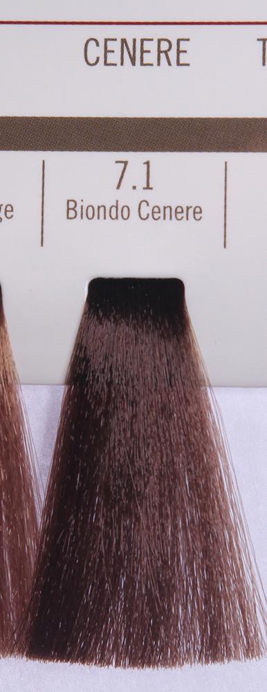 BAREX 7.1 краска для волос / PERMESSE 100млКраски<br>Оттенок: Блондин пепельный. Профессиональная крем-краска Permesse отличается низким содержанием аммиака - от 1 до 1,5%. Обеспечивает блестящий и натуральный косметический цвет, 100% покрытие седых волос, идеальное осветление, стойкость и насыщенность цвета до следующего окрашивания. Комплекс сертифицированных органических пептидов M4, входящих в состав, действует с момента нанесения, увлажняя волосы, придавая им прочность и защиту. Пептиды избирательно оседают в самых поврежденных участках волоса, восстанавливая и защищая их. Масло карите оказывает смягчающее и успокаивающее действие. Комплекс пептидов и масло карите стимулируют проникновение пигментов вглубь структуры волоса, придавая им здоровый вид, блеск и долговечность косметическому цвету. Активные ингредиенты:&amp;nbsp;Сертифицированные органические пептиды М4 - пептиды овса, бразильского ореха, сои и пшеницы, объединенные в полифункциональный комплекс, придающий прочность окрашенным волосам, увлажняющий и защищающий их. Сертифицированное органическое масло карите (масло ши) - богато жирными кислотами, экстрагируется из ореха африканского дерева карите. Оказывает смягчающий и целебный эффект на кожу и волосы, широко применяется в косметической индустрии. Масло карите защищает волосы от неблагоприятного воздействия внешней среды, интенсивно увлажняет кожу и волосы, т.к. обладает высокой степенью абсорбции, не забивает поры. Способ применения:&amp;nbsp;Крем-краска готовится в смеси с Молочком-оксигентом Permesse 10/20/30/40 объемов в соотношении 1:1 (например, 50 мл крем-краски + 50 мл молочка-оксигента). Молочко-оксигент работает в сочетании с крем-краской и гарантирует идеальное проявление краски. Тюбик крем-краски Permesse содержит 100 мл продукта, количество, достаточное для 2 полных нанесений. Всегда надевайте подходящие специальные перчатки перед подготовкой и нанесением краски. Подготавливайте смесь крем-краски и молочка-оксигента Permesse в неметаллич