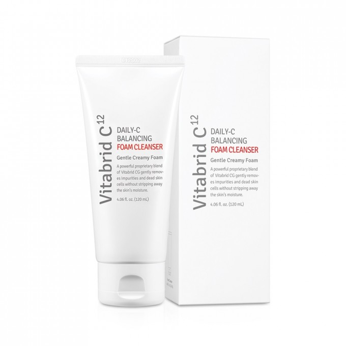 Купить VITABRID C12 Крем- пенка Daily-C / Balancing Foam Cleanser 120 мл