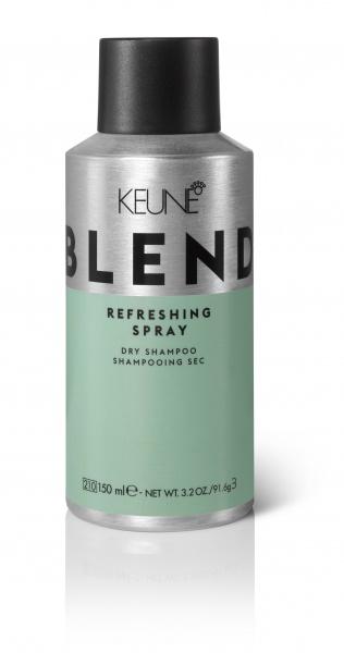 KEUNE Сухой шампунь для волос / BLEND REFRESHING SPRAY, 150 мл keune кондиционер спрей 2 фазный для кудрявых волос кэе лайн cl control 2 phase spray 400мл